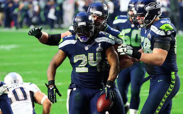 Marshawn Lynch Super Bowl 49