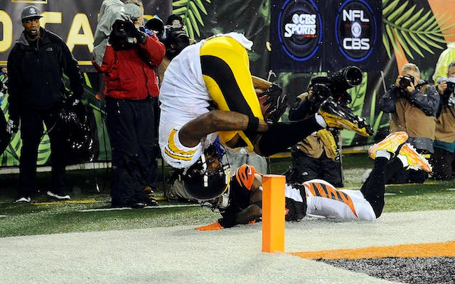 Dean Blandino isn't convinced that this was a TD by Martavis Bryant. (USATSI)