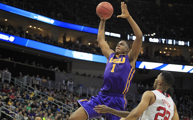 Jarell Martin may have played his last game for LSU. (USATSI)