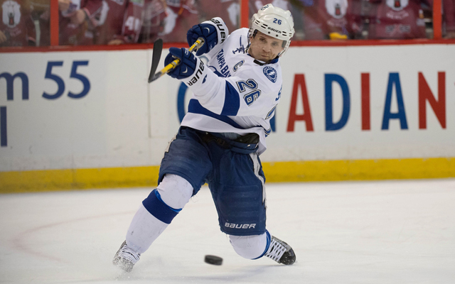 Martin St. Louis is headed to New York. (Getty Images)