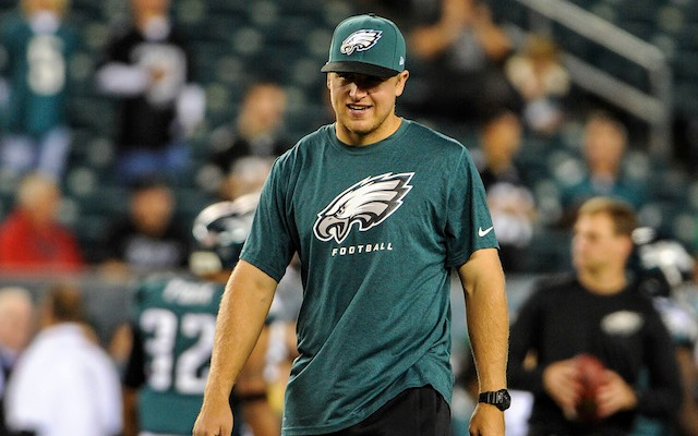 Matt Barkley seems a little confused by Richie Incognito's joke about hazing. (USATSI)