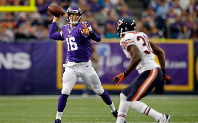 Matt Cassel is expected to the Vikings starting quarterback against Baltimore. (USATSI)