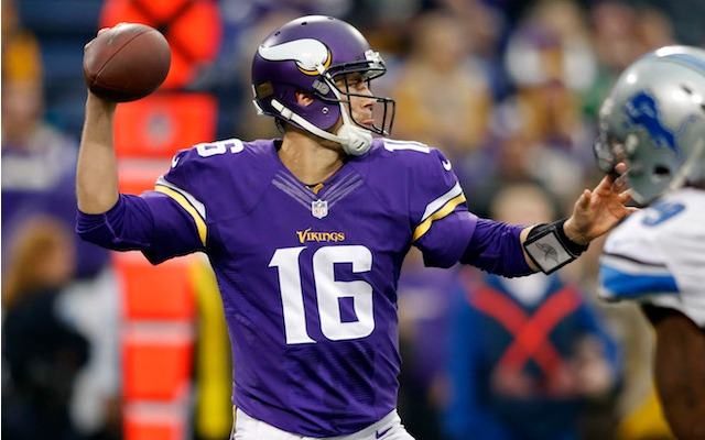 Matt Cassel has signed up for two more years in Minnesota. (USATSI)