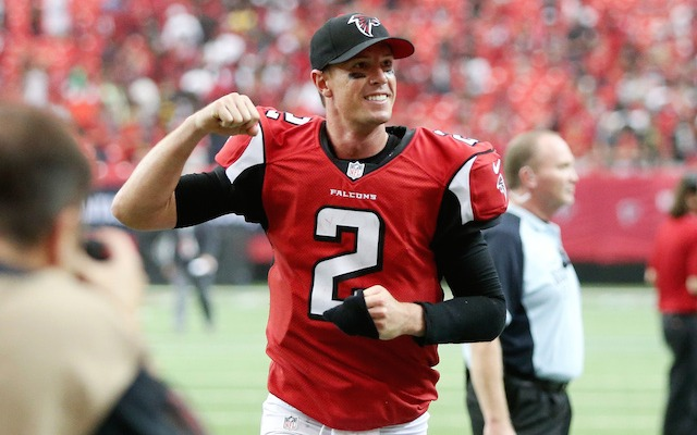 Matt Ryan played what might have been the best game of his career.