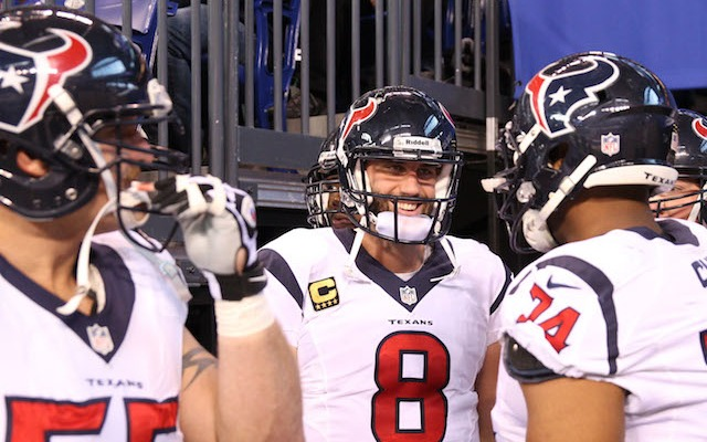 Texans quarterback Matt Schaub is set to make his first start since October. (USATSI)
