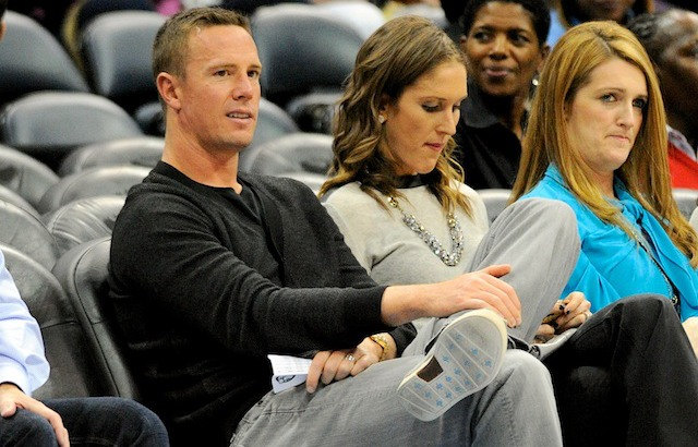 Matt Ryan was at a WNBA game on Monday thinking about the Patriots. (USATSI)