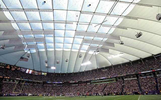 Say good-bye to the Metrodome, this might be the last time you ever see it. (USATSI)