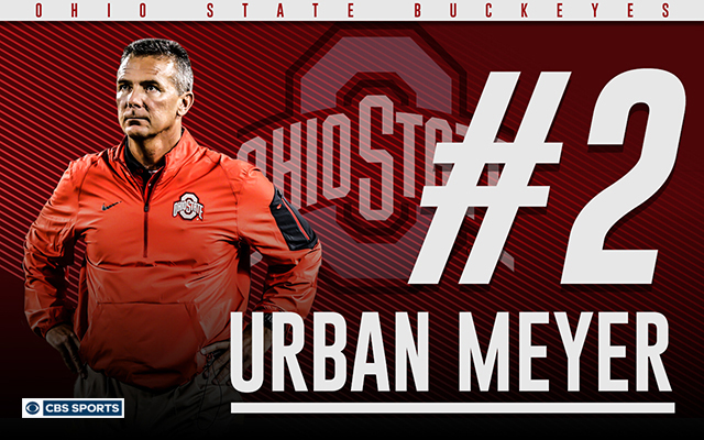 Urban Meyer has won big everywhere he's coached. (CBS Sports Graphic)