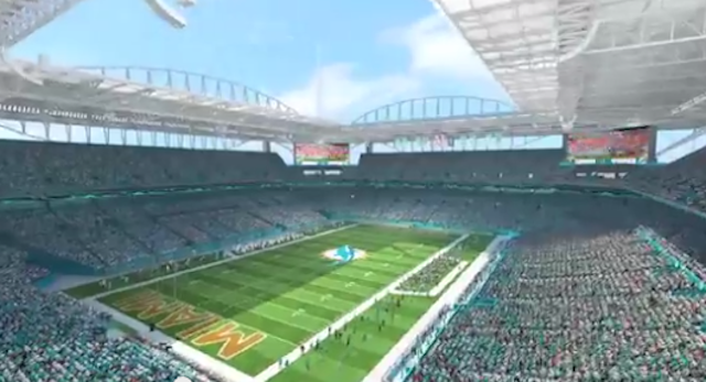 Sun Life Renovations : Look dolphins announce major changes to sun life stadium