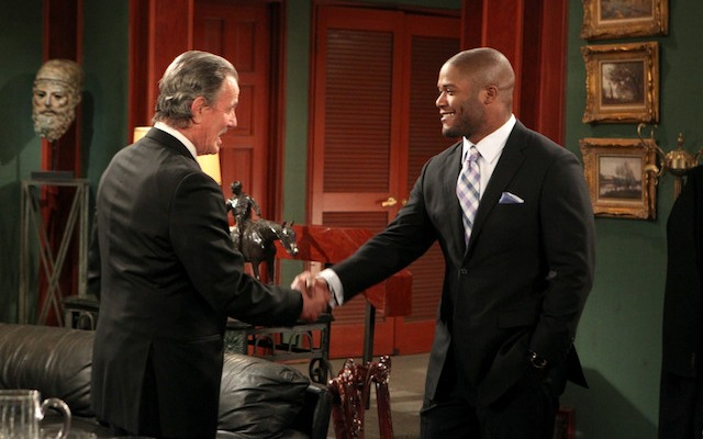 Michael Robinson will be making an appearance on CBS Daytime television in March. (CBS)
