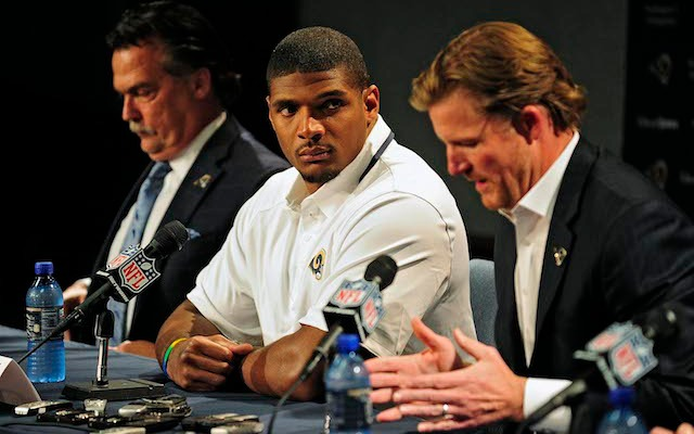 Michael Sam wanted to come out to his NFL teammates before going public about his sexuality. (USATSI)