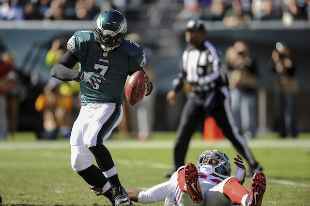Michael Vick said he heard his hamstring 'pop' on Sunday. (USATSI)