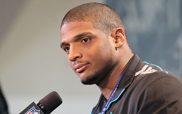 Michael Sam was popular at an autograph signing on Saturday.