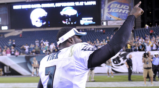 Is Mike Vick the No. 1 QB in Philly?