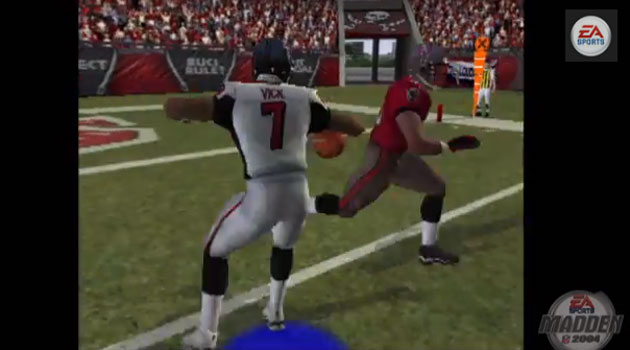 Mike Vick is the QB of EA Sports' Madden 25 All-25 team.