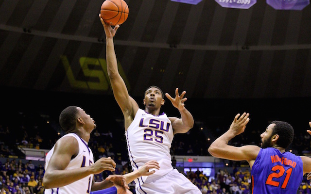 Jordan Mickey has decided to leave LSU for the NBA. (USATSI)