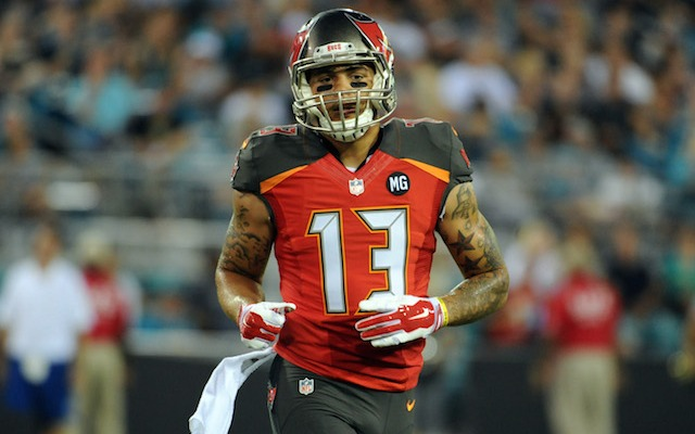 Mike Evans was throwing punches at a brawl outside a nightclub in March. (USATSI)