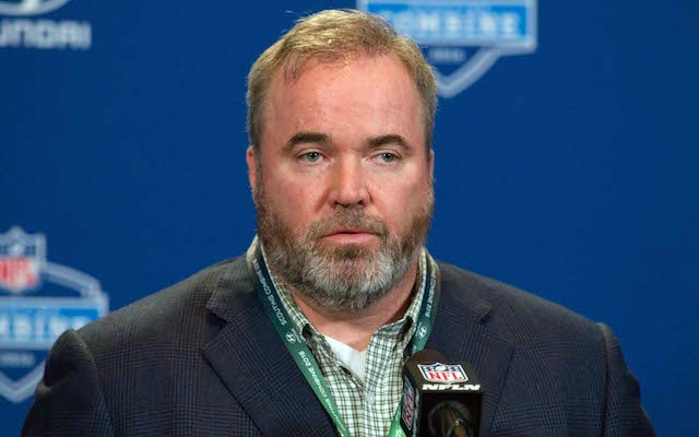 Packers coach Mike McCarthy is not happy with the new touchback rule. (USATSI)