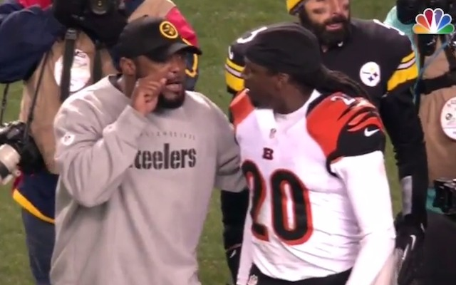 Mike Tomlin has heated postgame exchange with Bengals player