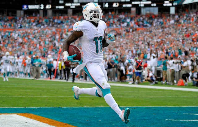 Mike Wallace thinks he left a few touchdowns on the table in 2013. (USATSI)