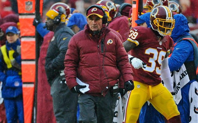 Mike Shanahan's got drama building in D.C.