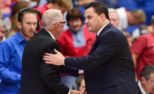 Sean Miller and Steve Fisher meet again. (USATSI)