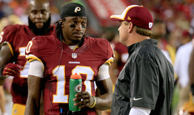 How will Robert Griffin III and Jay Gruden fare together?