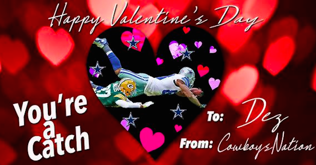 nfl valentine's day winners and losers: cowboys will make you cry, Ideas