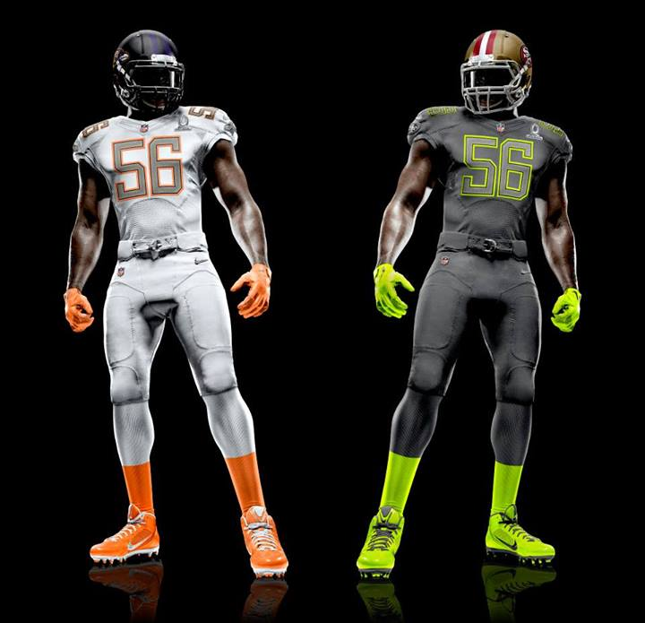 New Pro Bowl uniforms
