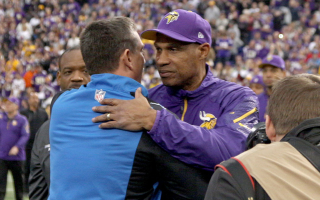 The Vikings and Lions both have open jobs but they're not created equal.