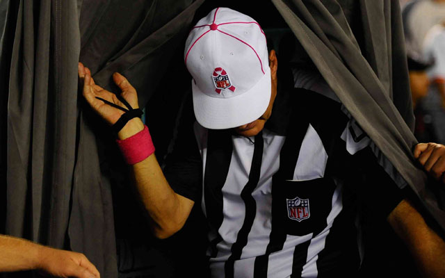 The NFL could consider taking replay out of the hands of officials.