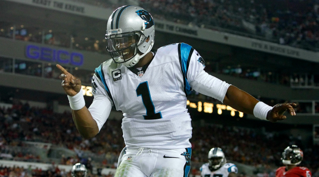 Cam Newton is elevating his game.