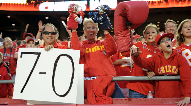 The Chiefs don't get no respect.