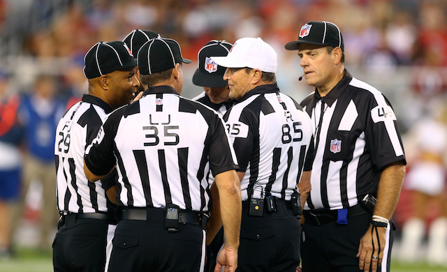 The NFL says refs won't call the regular season any different than the preseason.