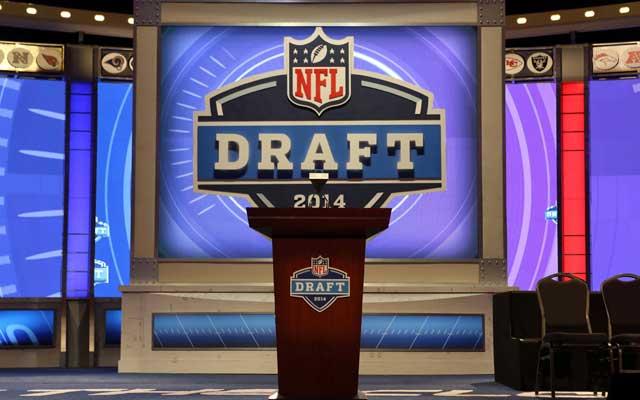 The 2014 draft dance floor is ready.