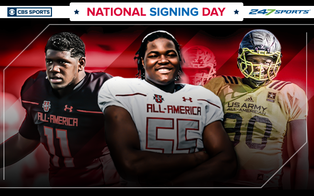 CBS Sports is here with live coverage of National Signing Day all day Wednesday. (CBS Sports Graphic)