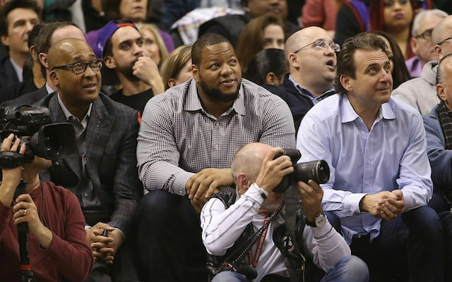 Did the Dolphins make a deal with Ndamukong Suh before they were allowed to? (USATSI)