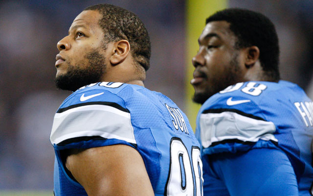 Ndamukong Suh says he's 'happy' in Detroit but oddly said he 'chose' to play for the Lions.