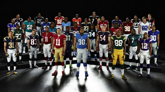 Nike unveils new NFL uniforms; Seahawks get big change to jerseys ...