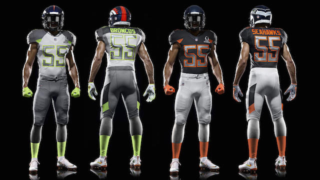 Look Heres What The Nfls Slick New  Pro Bowl Uniforms Look