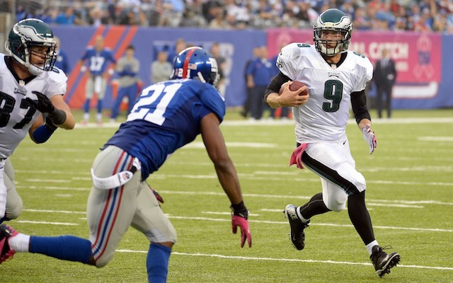 Nick Foles will reportedly be the Eagles starting quarterback in Week 6. (USATSI)