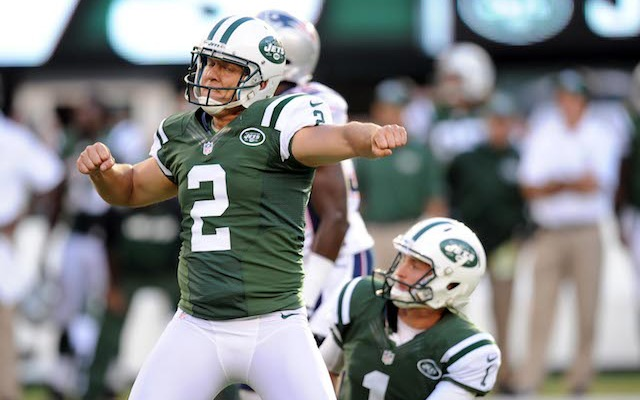 The Jets placed their franchise tag on kicker Nick Folk. (USATSI)