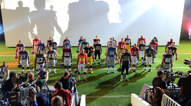 reputable site 61d9f 84b2c Nike: NFL teams' throwback uniforms 'something we're working ...