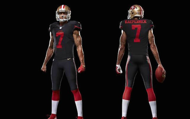 buy popular 9bedf 438dd 49ers will wear alternate black uniforms in Monday night ...