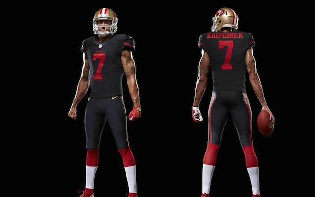 427fa0320 LOOK  49ers unveil new black alternate uniform - CBSSports.com