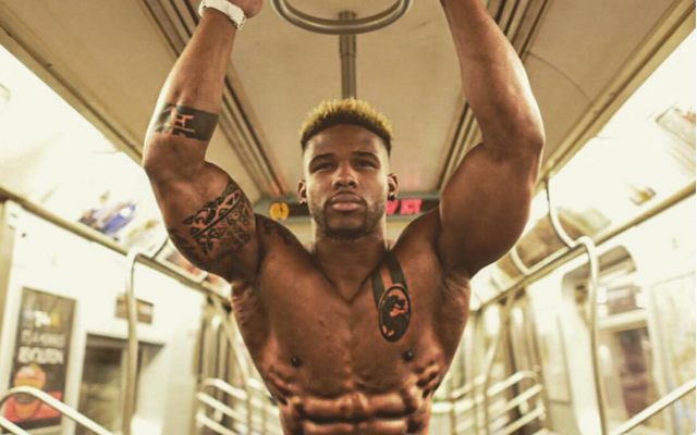 Odell's cousin Terron Beckham wows with absurd bench press ...