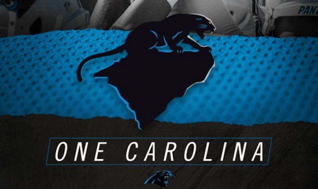 The Panthers' One Carolina hashtag has taken over social media. (Twitter)