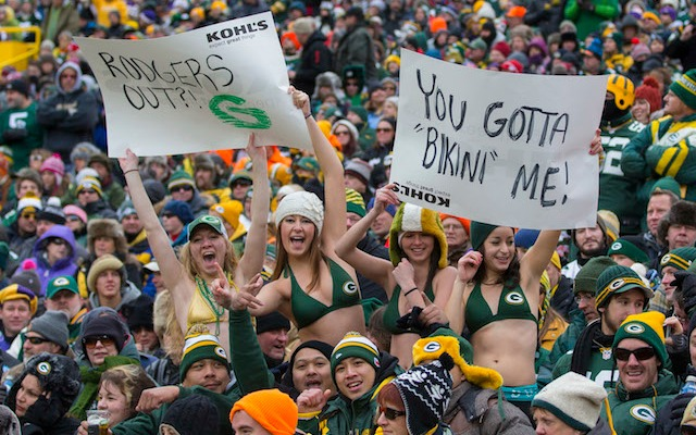 Apparently Green Bay has the best fans in the NFL. (USATSI)