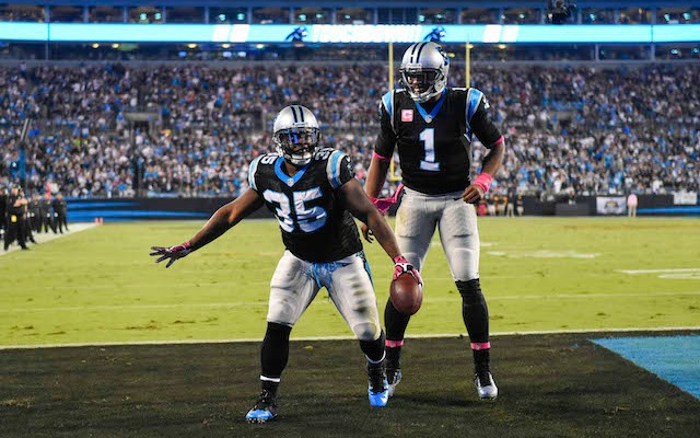 40a7fd76aa3 The Panthers are going with black and silver for the big game. (USATSI)