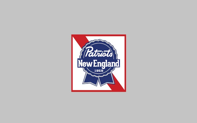 Here's what you get when you combine the Patriots with beer. (Design by Ryan K. Fishman)